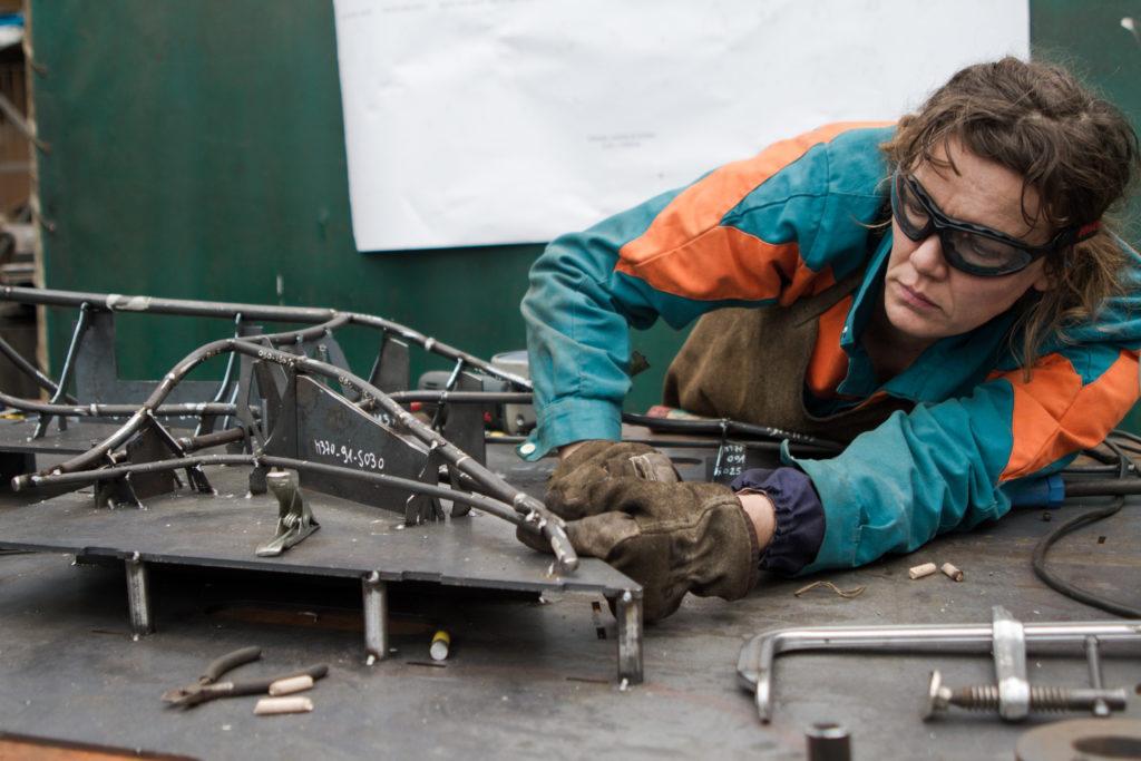 Construction de la maquette de l'Arbre aux Hérons