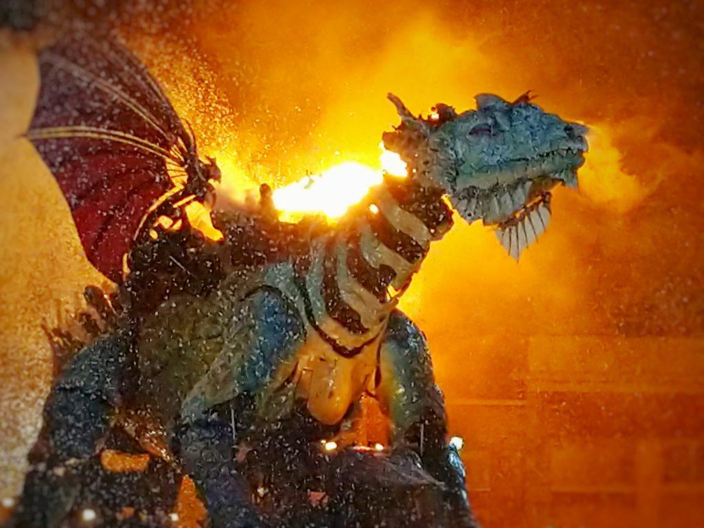Le Dragon de Calais - compagnie La Machine - credit Omar Soubra