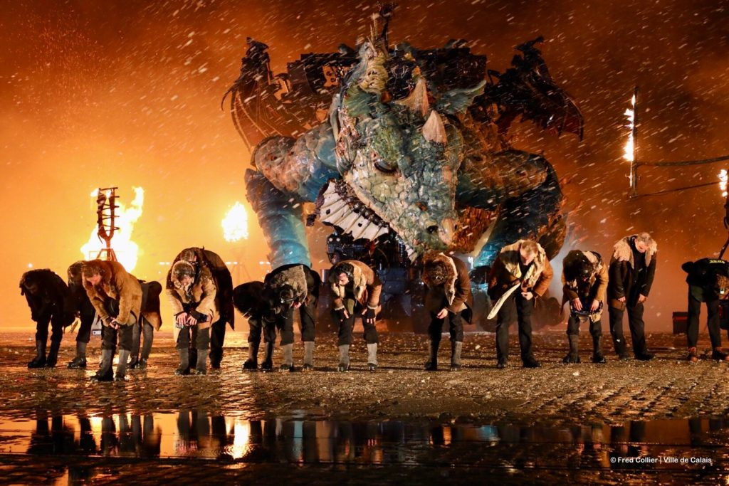 Le Dragon de Calais - compagnie La Machine - credit Fred Collier Ville de Calais