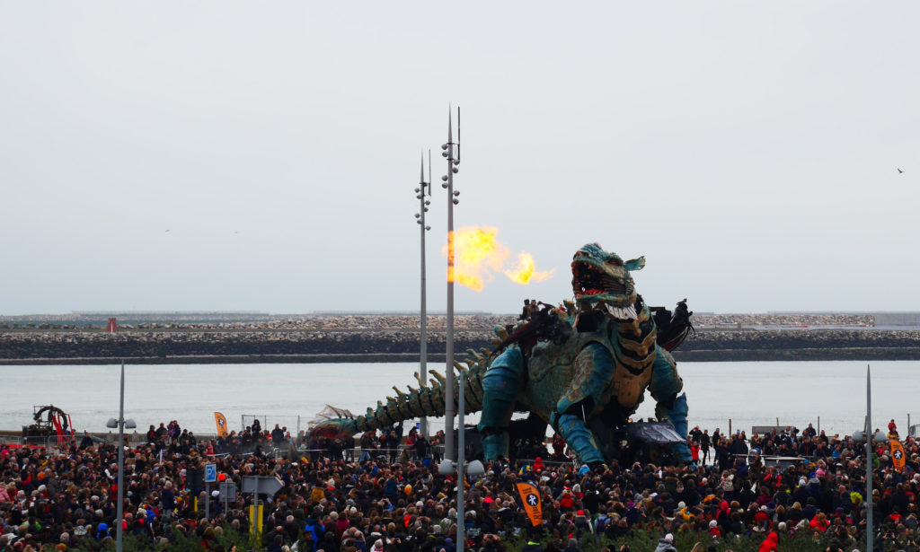 Le Dragon de Calais - Compagnie La Machine - Crédit Pauline David