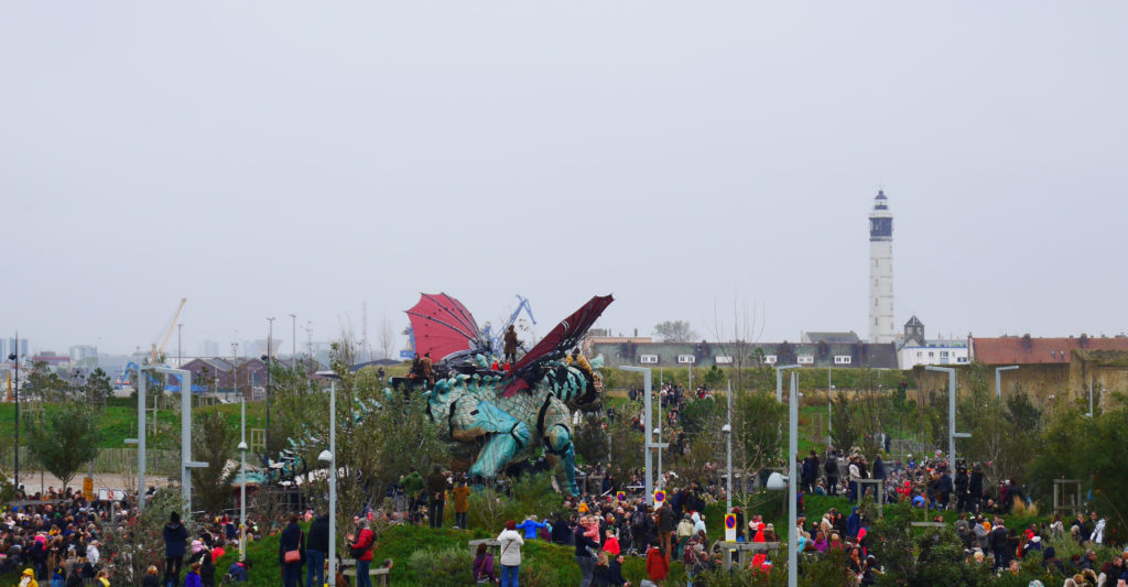 Le Dragon de Calais - compagnie La Machine - credit Pauline David